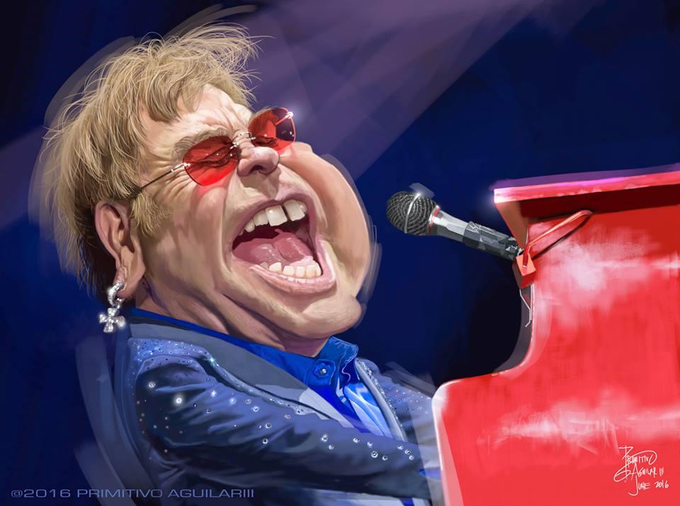Elton John por Tivo Aguilar