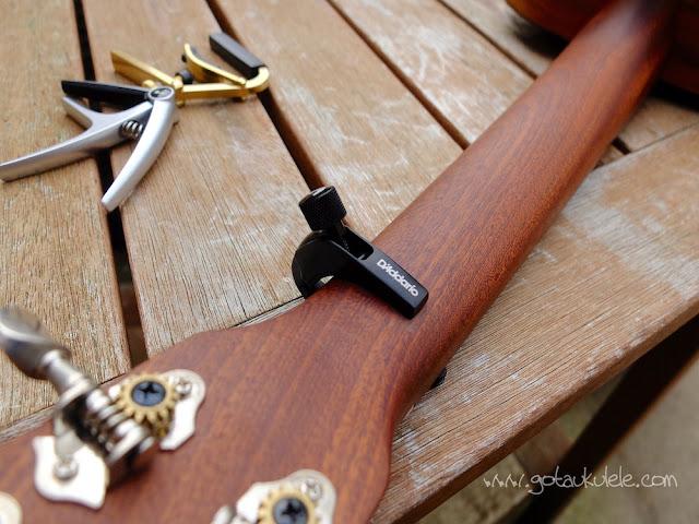 D'Addario ukulele capo