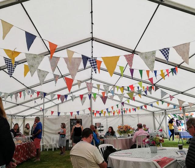 Cornbury Festival 2019 tea tent