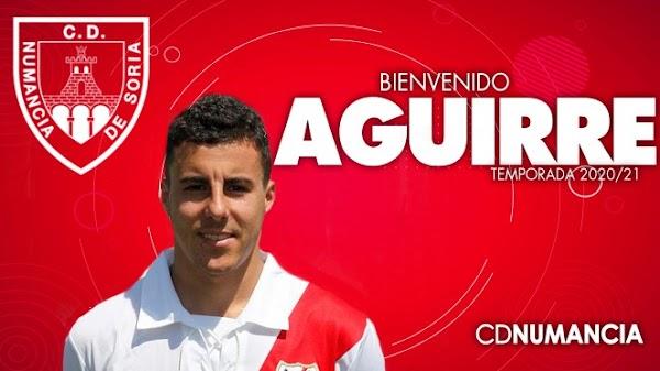 Oficial: Numancia, firma Diego Aguirre