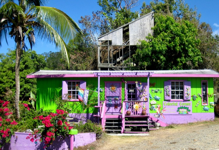 Are you seduced by a charming storefront? This one is on St. John, US Virgin Islands | Ms. Toody Goo Shoes