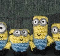 http://www.ravelry.com/patterns/library/four-despicable-minions