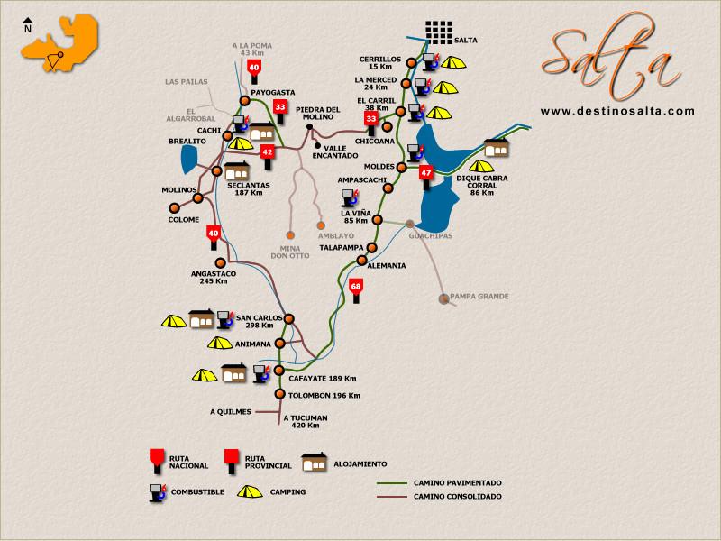Circuito Turistico : Viajeros salta circuito valles calchaquies