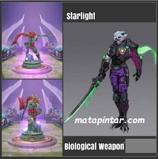 Skin Starlight Bulan Juli 2020 - Mobile Legends