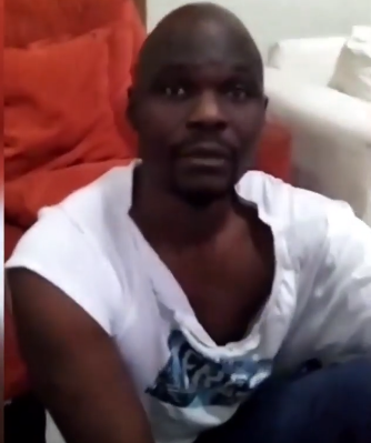 Watch video of actor, Baba Ijesha, begging for forgiveness after comedian Princess caught him while attempting to molest her foster daughter (Video)