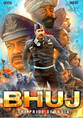 Bhuj – The Pride Of India (2021) Hindi 350MB DSNP HDRip 480p MSubs Download