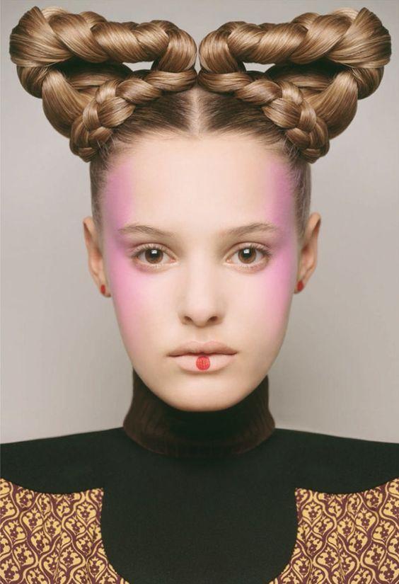 Strange braids, 11 innovative Avant-garde braided hairstyles   THE ...