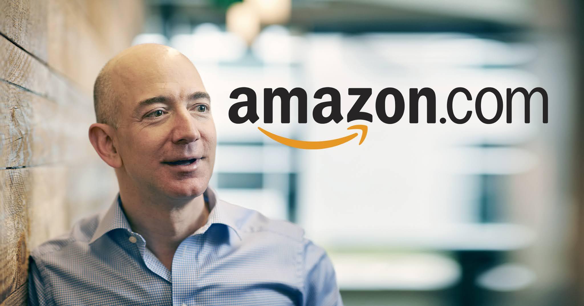 Jeff Bezos steps down as CEO of Amazon