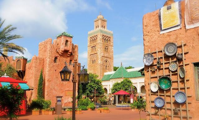 Marrocos Epcot Disney Orlando