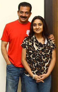Malavika Avinash family