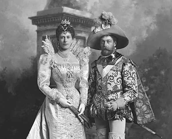 The Duke and Duchess of York (King George V and Queen Mary)