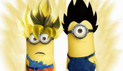 Dragon Ball Minion Goku y Vegeta