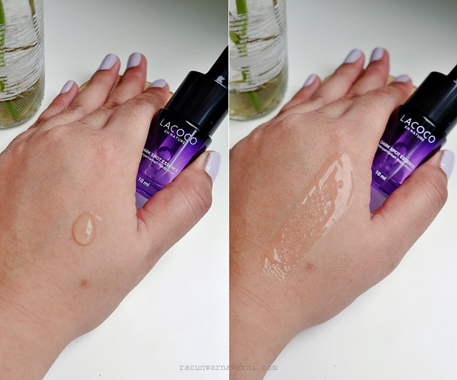texture lacoco dark spot essence