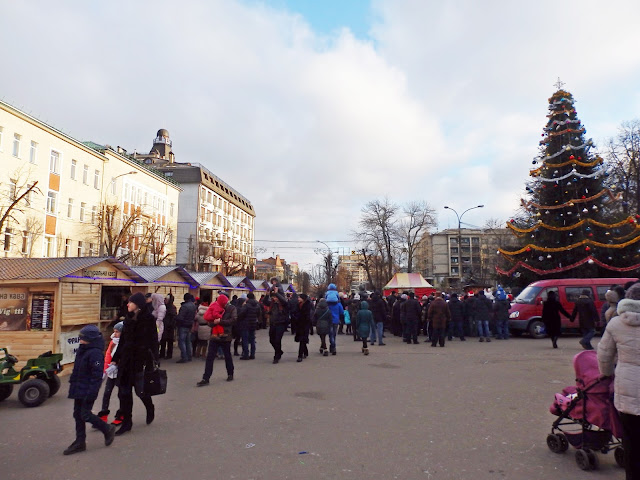 Chmielnytskyj, Ukraina (1 stycznia)