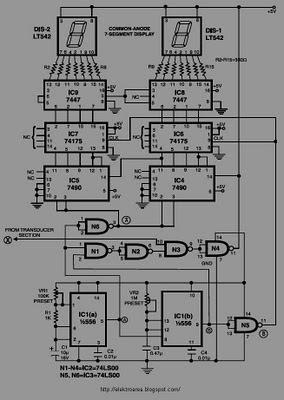 digital speedometer circuit schematic diagram wiring diagram. Black Bedroom Furniture Sets. Home Design Ideas