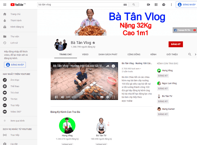 """Bà Tân Vlog – Giải mã những thành tích """"khổng lồ"""" như cách bà làm nội dung"""