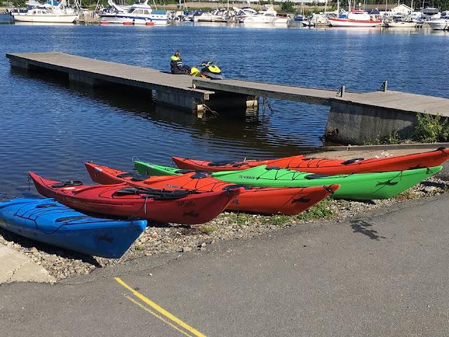 Oslo Kayak Tours, Sjolyst Marina, Oslo