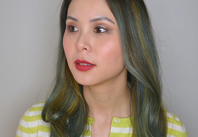 Teeez Cosmetics Fashion Vendetta Review Makeup Look