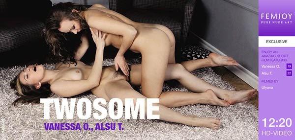 [FEdf] Alsu T, Vanessa O - Twosome