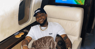 Davido brags about taking a direct flight from the US to Nigeria (video)