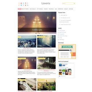 loveria -бесплатный шаблон для идщппук