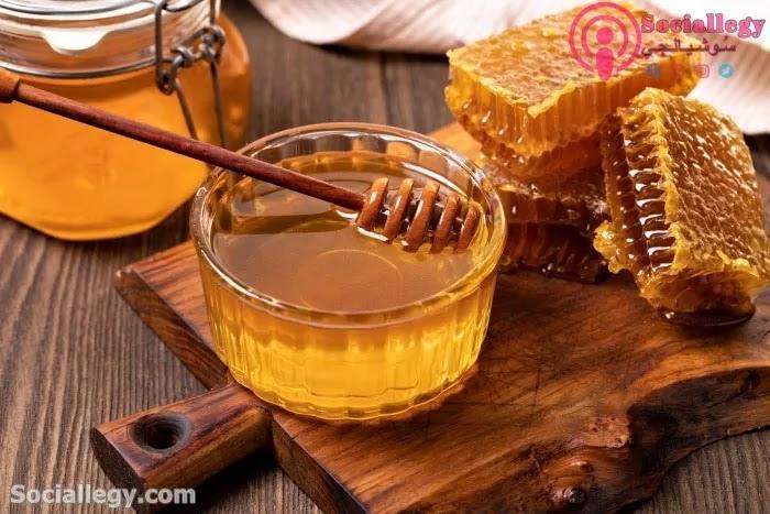 فوائد العسل فى الشفاء