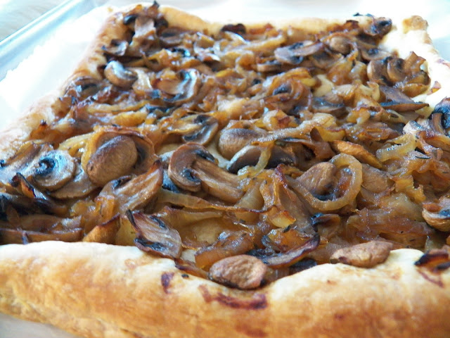 Onion and Mushroom Tart
