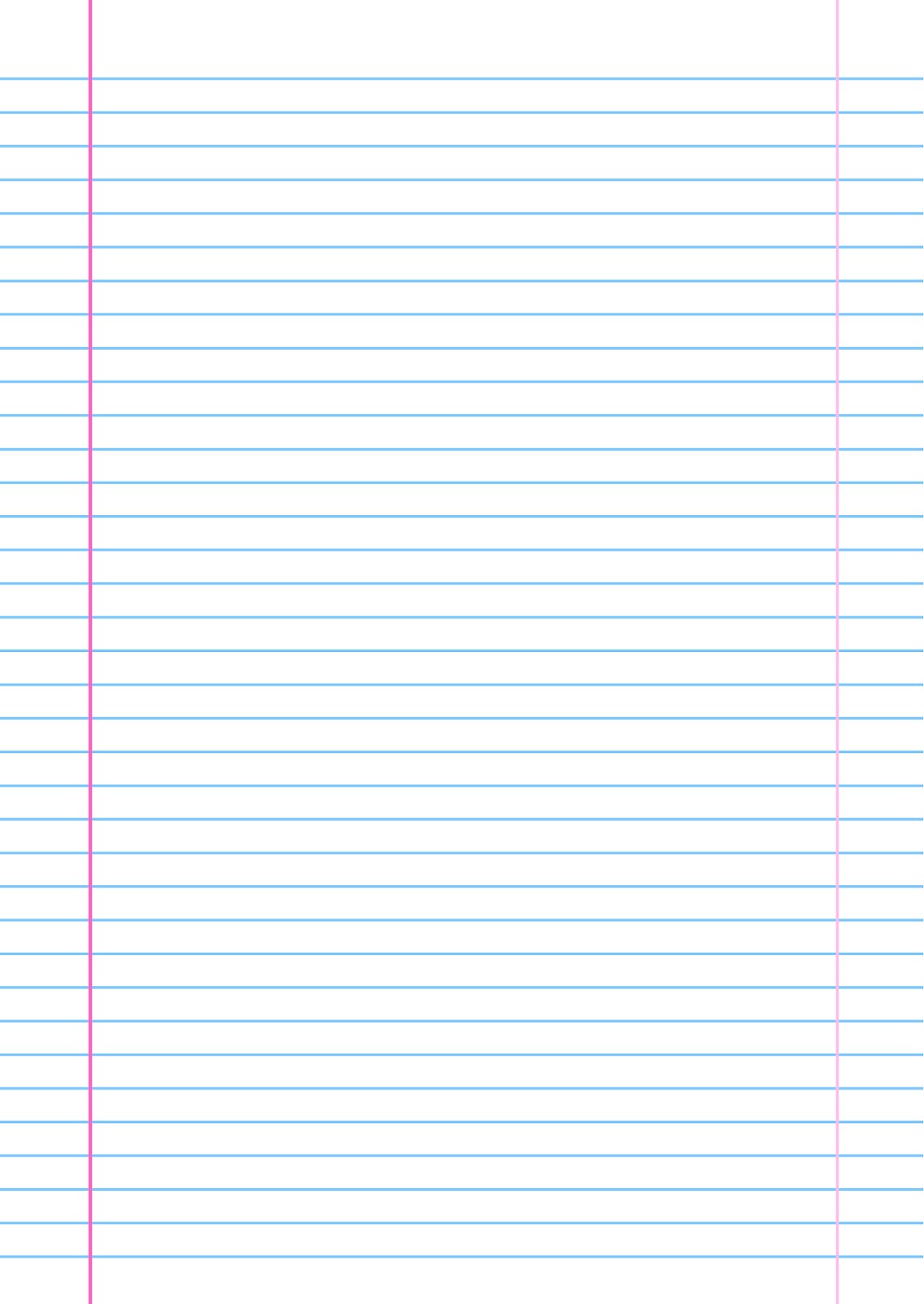Can you print on lined paper