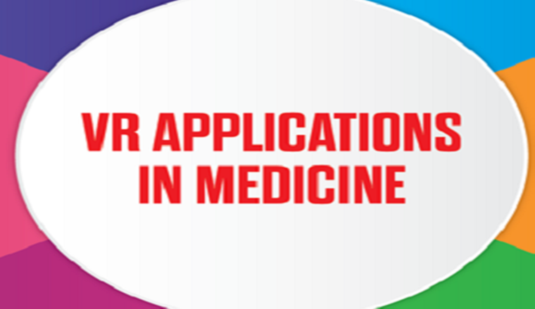 VR Applications in Medicine #infographic