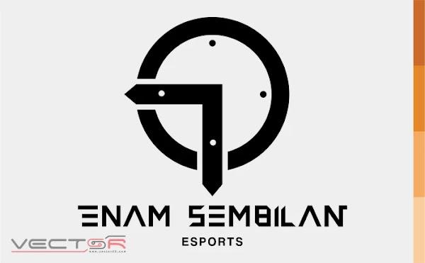 Enam Sembilan Esports Logo - Download Vector File AI (Adobe Illustrator)