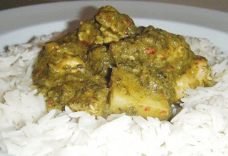 Spicy Chicken Goan Curry