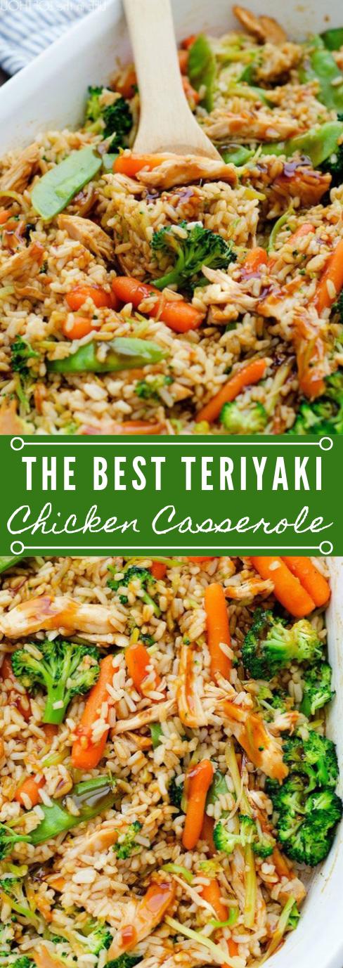 Teriyaki Chicken Casserole #healthyrecipes #casserole #teriyaki #dinner #yummy