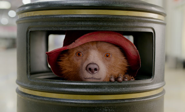 Paddington (voiced by Ben Whishaw) for another adventure in PADDINGTON 2 (2017)
