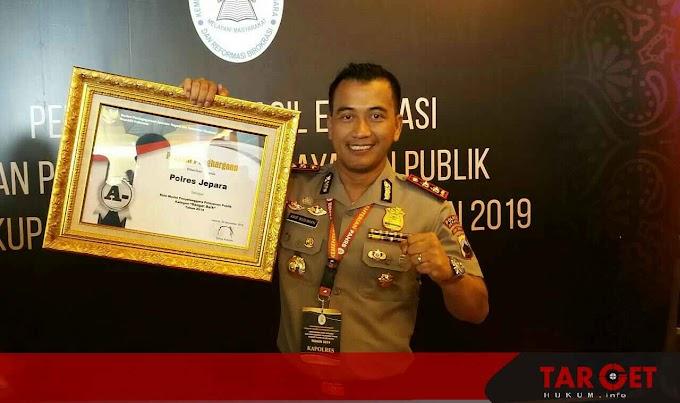 Polres Jepara Terima Penghargaan dari Kementerian PAN-RB RI Dibidang SIM dan SKCK