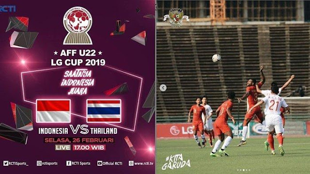Jadwal Penting: Laga Partai Final Piala AFF U-22 (Timnas Indonesia U-22 vs Thailan)