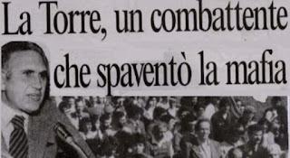Andrea Grasso: ricordiamo l'esempio di Pio La Torre