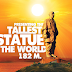 Indian iron man Vallabh Bhai patel Statue of Unity  ready for inauguration in 31 october by INDIAN PM Narendra modi