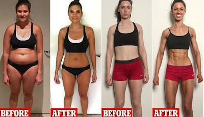 Transformasi tubuh dalam 8 minggu dengan metode F45