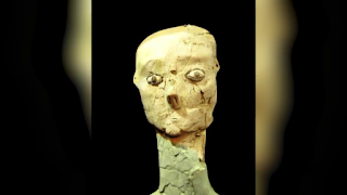 The-Plaster-Sculptures-at-The-Neolithic-Settlement-of-Ein-Gaza-amazing-discoveries