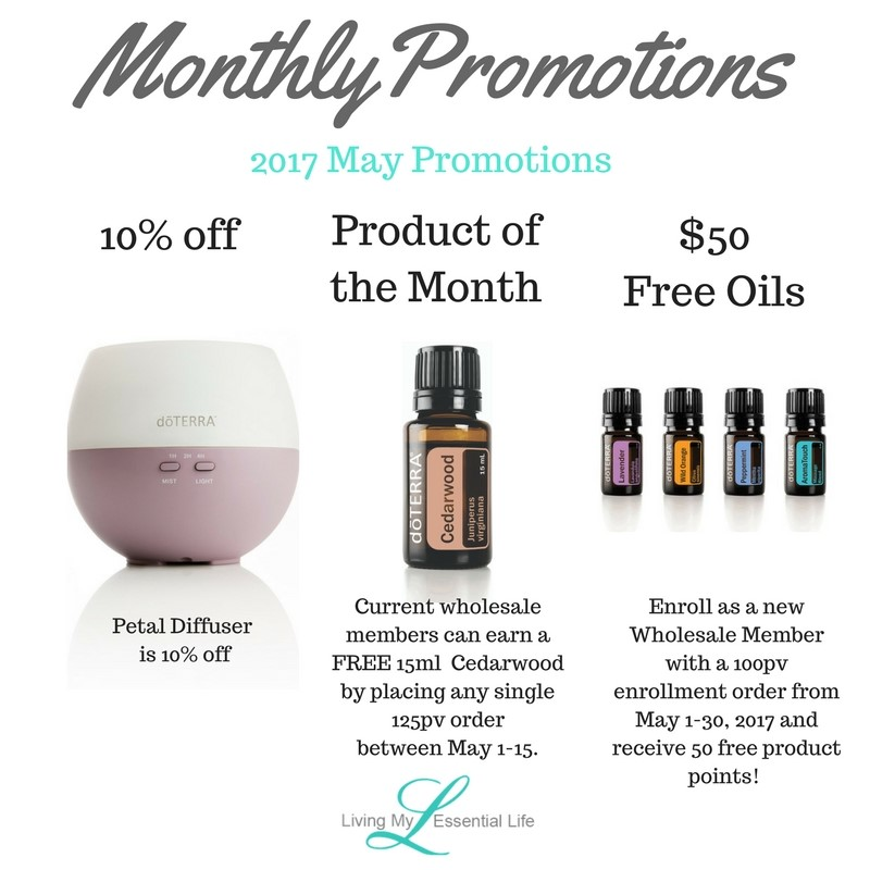 dōTERRA's Product of the Month program helps you save on your overall product costs. The Product of the Month program is extremely simple. Here is how it works: 1.