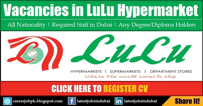 LuLu Hypermarket Careers and Job Vacancies in Dubai 2017