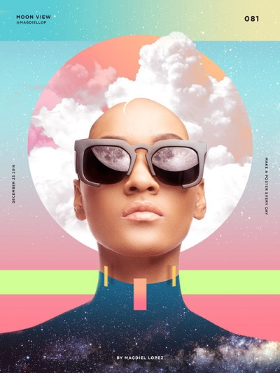 "por Magdiel Lopez, ""Moon View"" 