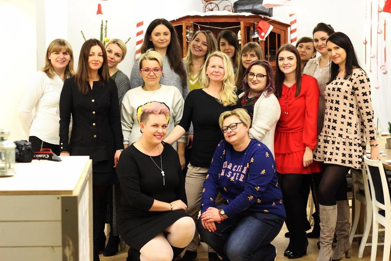 1 spotkanie blogerek mikołajki łódź 2017 akademia urody melodylaniella łódź blog beauty lifestyle fashion moda kulinaria instagram łódź influencer