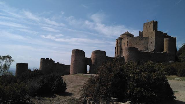 castillo de loarre altimetría