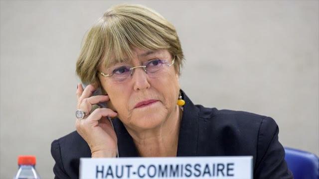 China condena injerencia de Bachelet en crisis hongkonesa