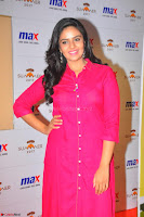 Sree Mukhi in Pink Kurti looks beautiful at Meet and Greet Session at Max Store (16).JPG