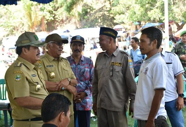Bupati dan Wakil Bupati Pangandaran Pantau Pilkades Serentak 2019