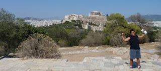 La Colina Filopapo, Atenas.