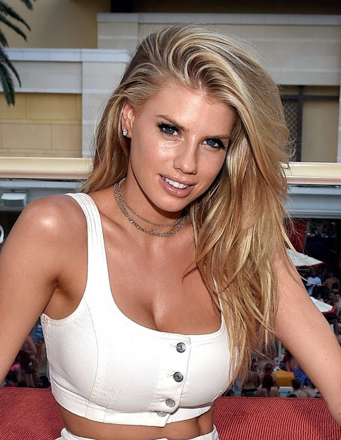 Charlotte McKinney at Encore Beach Club And Intrigue Nightclub in Las Vegas