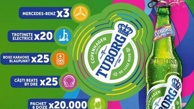 Cu CODURILE TUBORG 2020 câştigi o Maşina MERCEDES conform Regulamentului Concursului